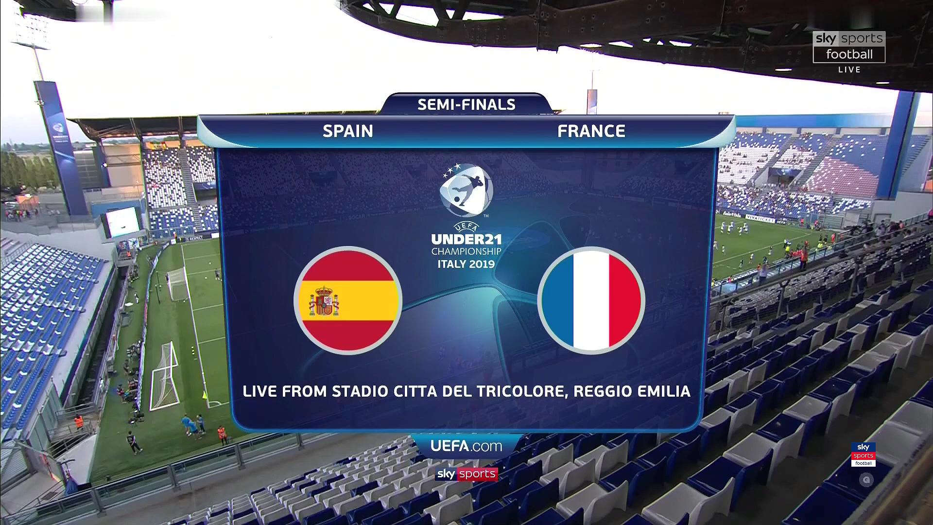 Xem lại: U21 Tây Ban Nha vs U21 Pháp