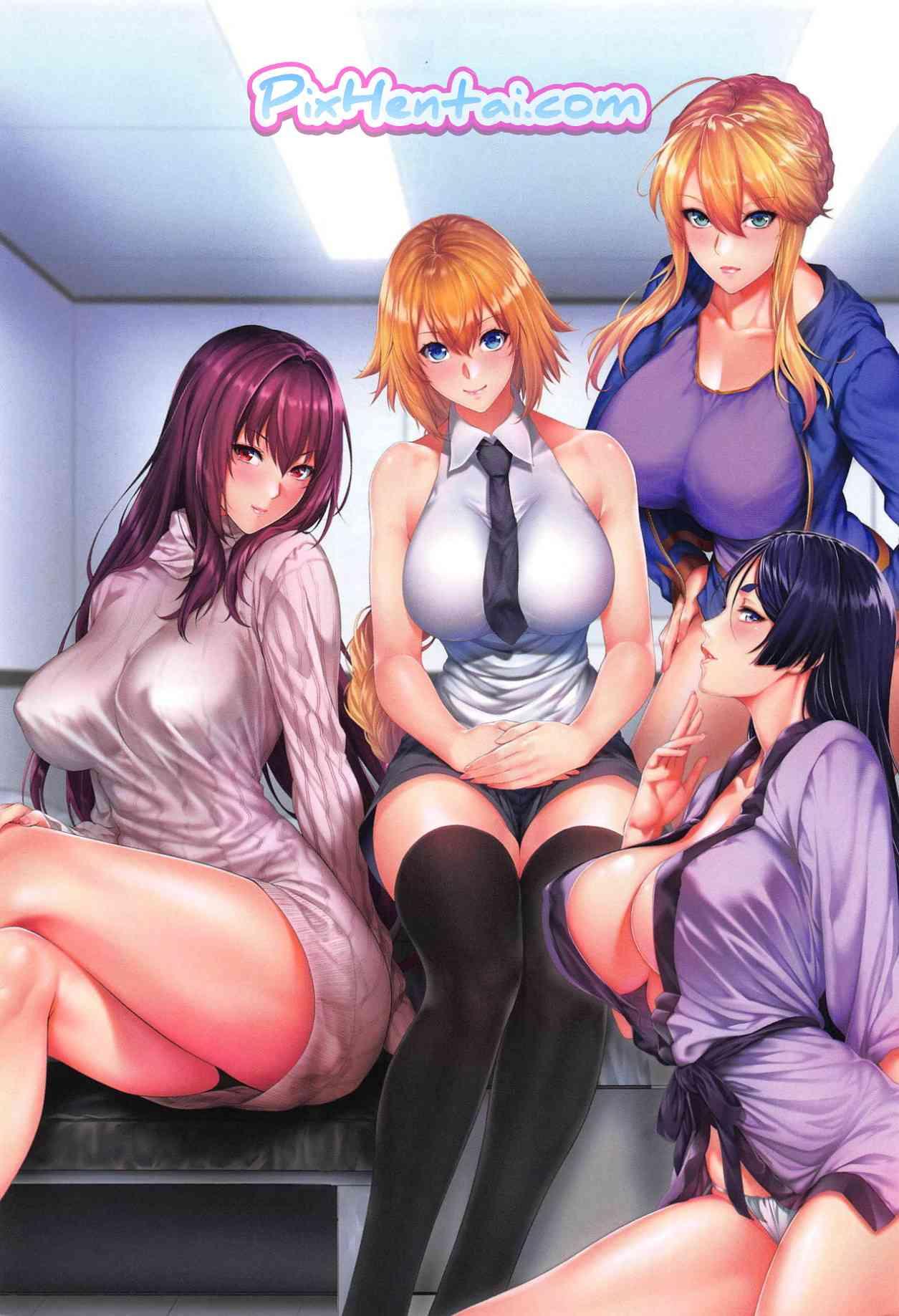 Komik Hentai Ritsuka-kun's Misfortune? The Targeted Lamb!! Manga Sex Porn Doujin XXX Bokep 21