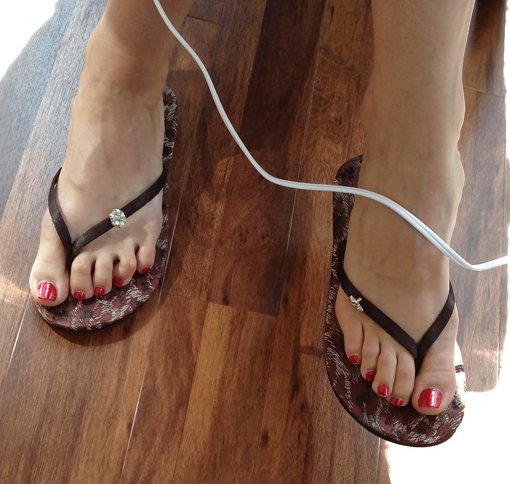 Long toes foot fetish-6130