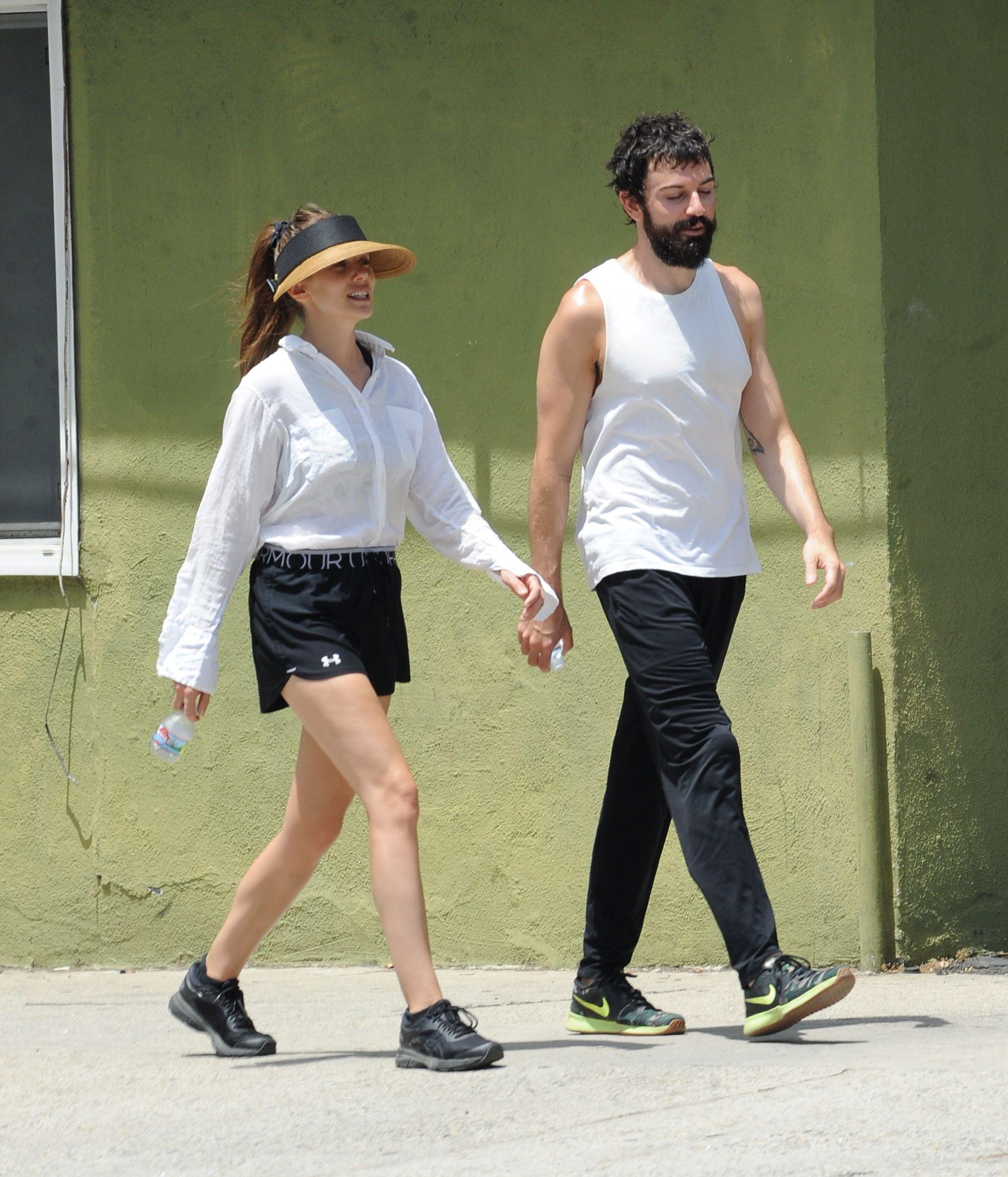 Elizabeth Olsen – out in Sherman Oaks 4-8-2019