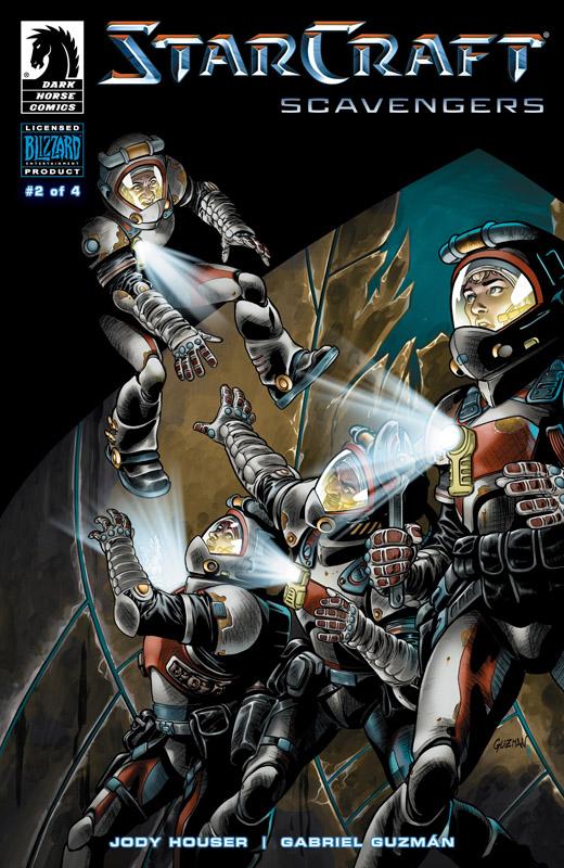 StarCraft - Scavengers #1-4 (2018) Complete