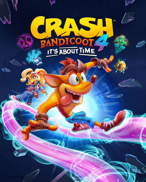 Crash Bandicoot 4: It's About Time (2021/RUS/ENG/MULTi/RePack by SpaceX)