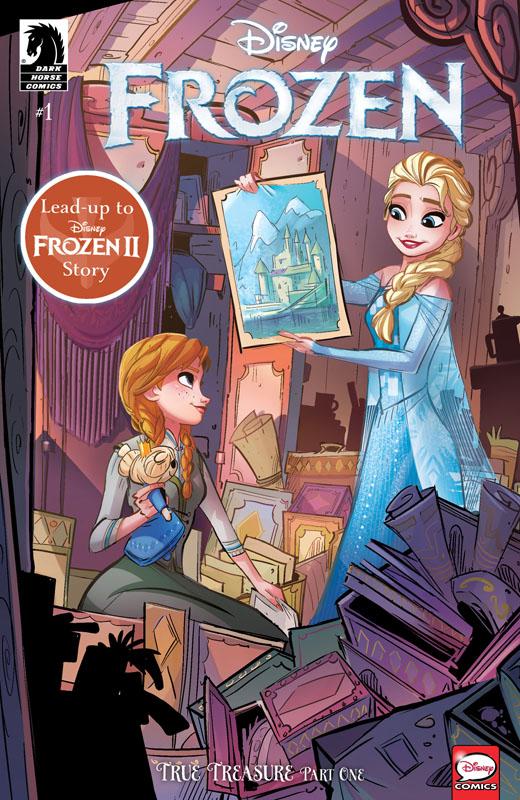 Frozen - True Treasure #1-3 (2019-2020) Complete