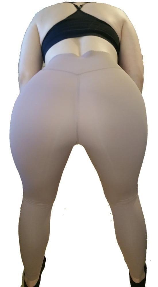 Yoga pants foot fetish-3504