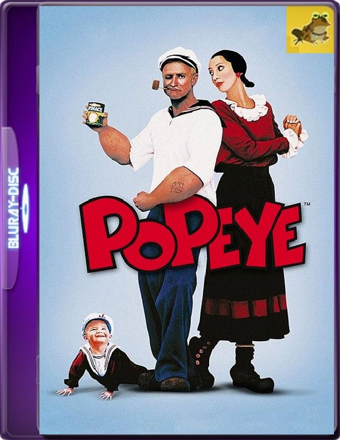 Popeye (1980) WEB-DL 1080p (60 FPS) Latino / Inglés