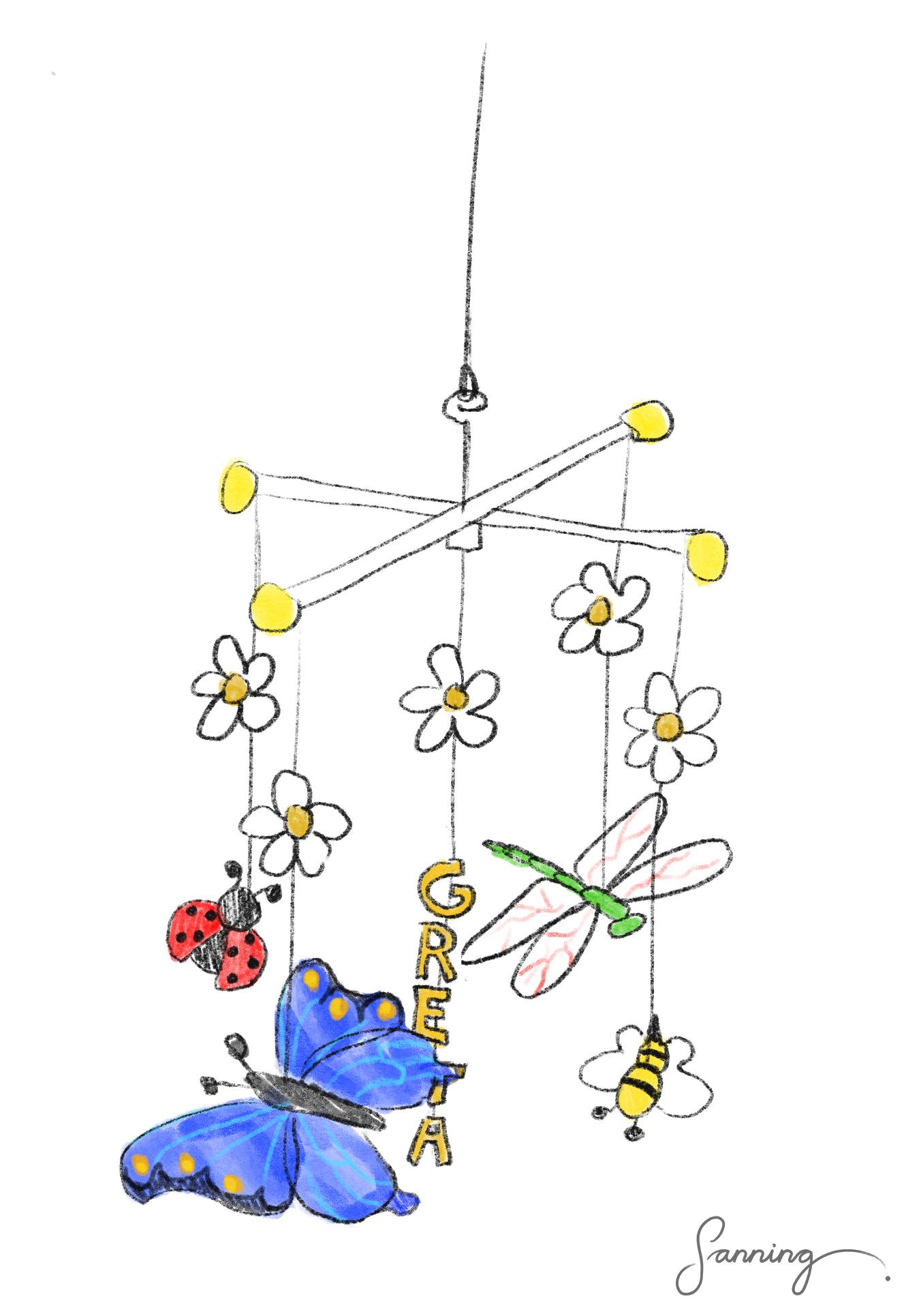 Insektsmobil Mia – konceptuell skiss