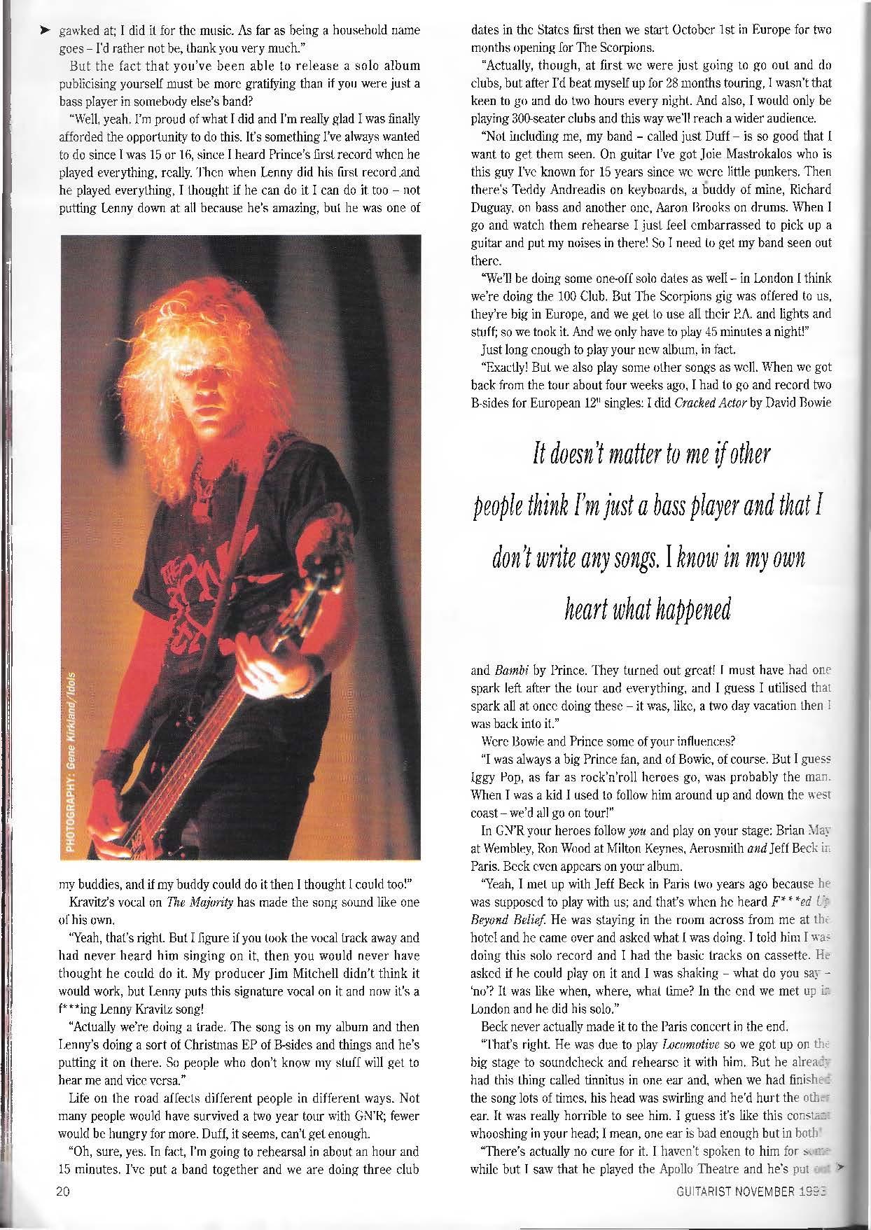 1993.11.DD - Guitarist Magazine - Loose Cannon (Duff) 1GJdsbJY_o
