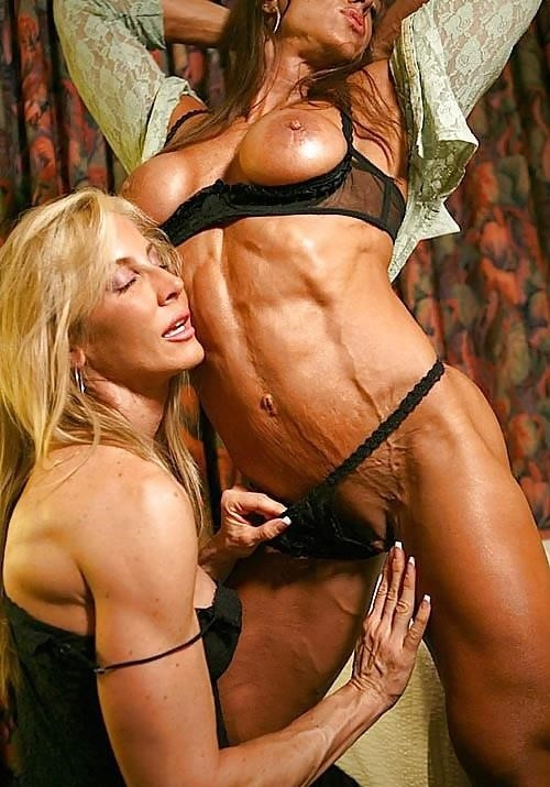 Female bodybuilders with huge clits-8050