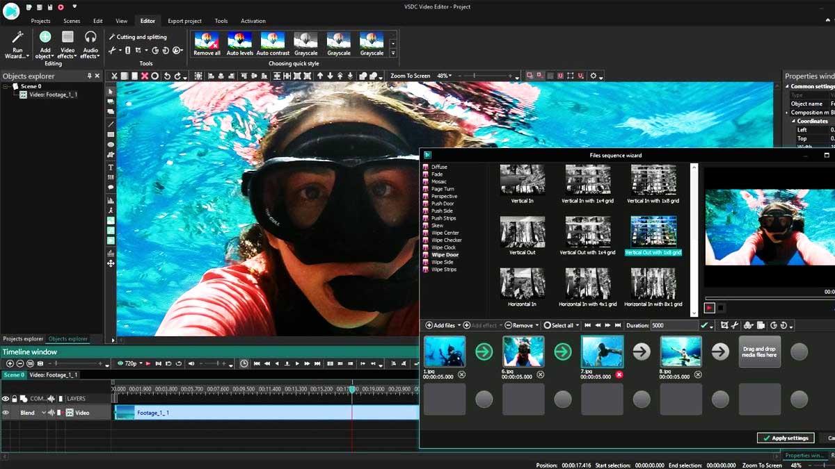 Editor Video Gratis VSDC