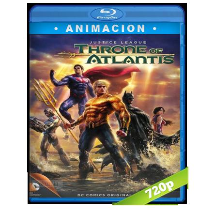 Liga De La Justicia El Trono De La Atlantida 720p Lat-Cast-Ing[Animacion](2015)