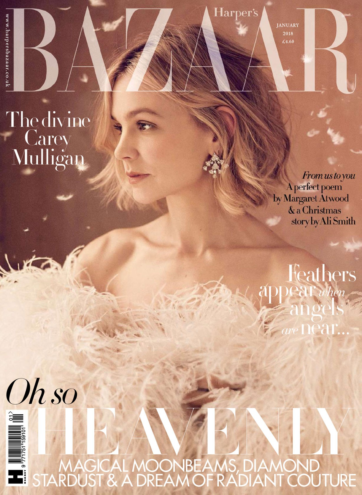 Carey Mulligan by Richard Phibbs - UK Harper's Bazaar january 2018