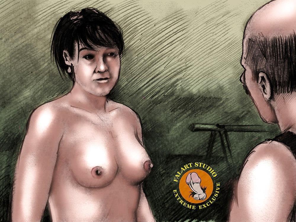 Bdsm slave tied up-3792