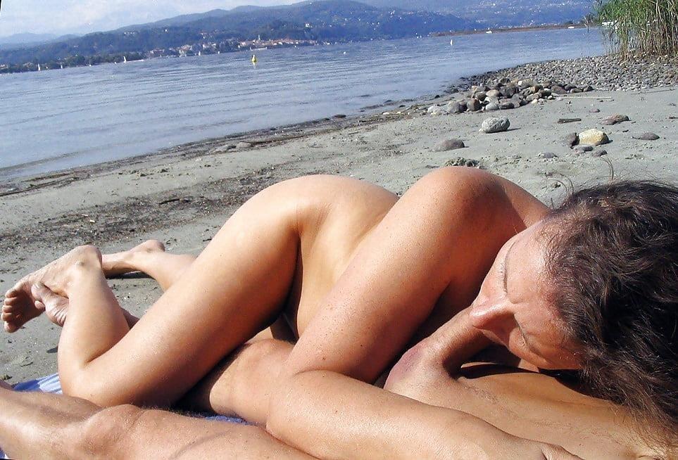 Nude beach sex in public-6998
