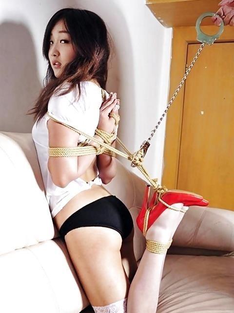 Shibari style bondage-8056