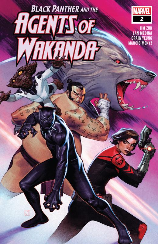 Black Panther and the Agents of Wakanda #1-8 (2019-2020)