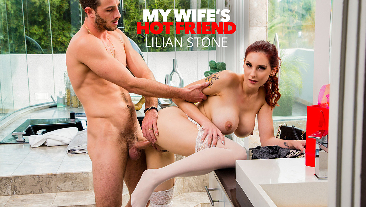 Lilian Stone, Lucas Frost – My Wife's Hot Friend – Naughty America