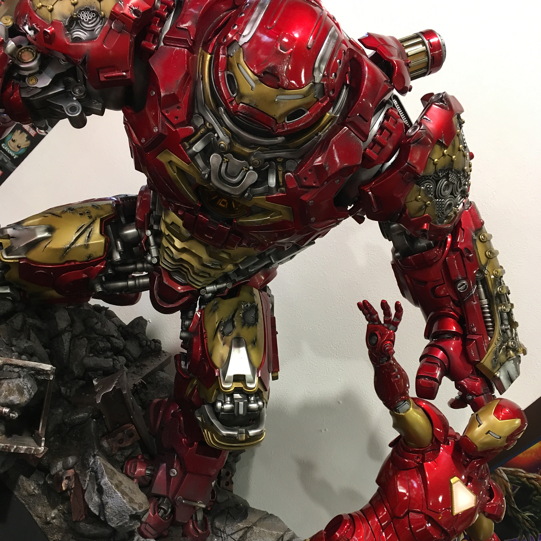 Avengers : Age of Ultron - HulkBuster Premium Collective 1/4 Statue (Hot Toys) OUPY9mmp_o