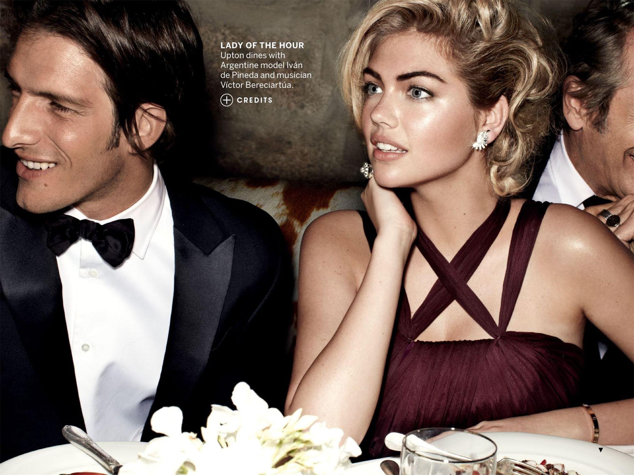 Kate Upton / Кейт Аптон - самая горячая супермодель мира в журнале Vogue US, июнь 2013 / фотограф Mario Testino