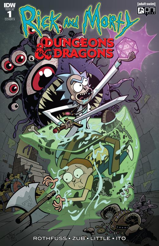 Rick and Morty vs. Dungeons & Dragons #1-3 (2018)