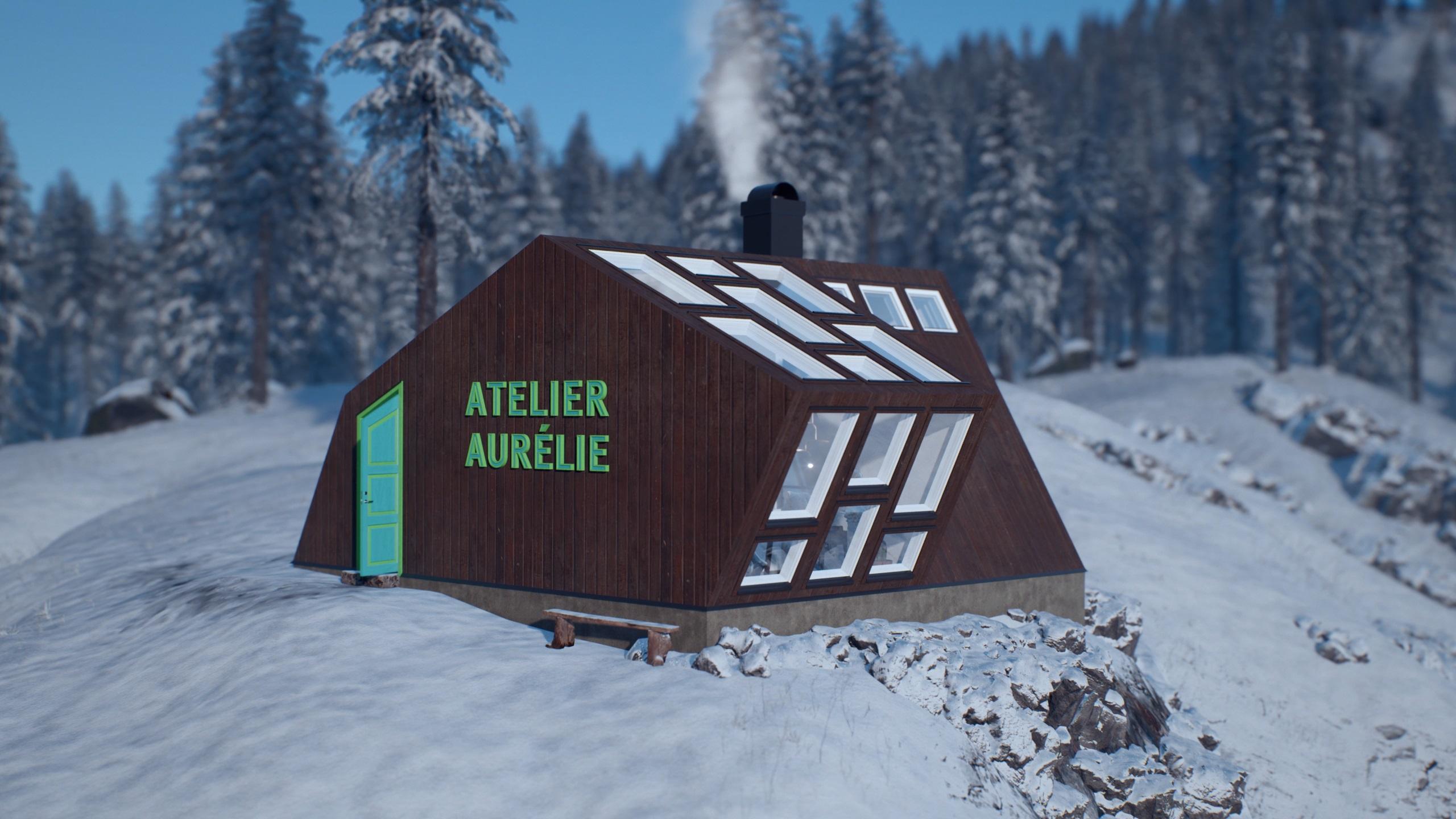Atelier Aurélie – View from southwest