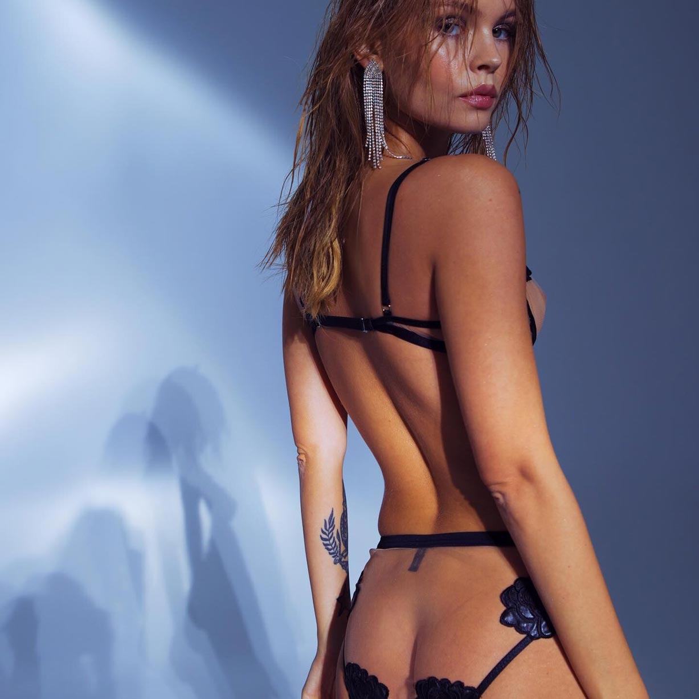 Анастасия Щеглова в сексуальном нижнем белье God Save Queen / фото 11