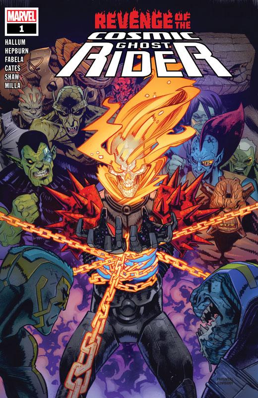 Revenge of the Cosmic Ghost Rider #1-5 (2020)