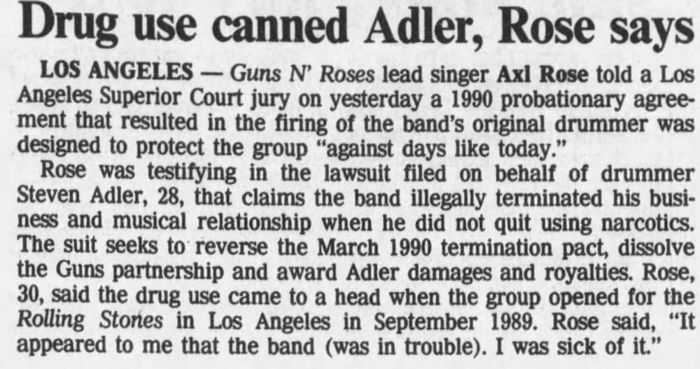 1993.08.24 - L.A. Daily News/Reno Gazette/The Tennessean - Reports on the Adler Vs GN'R trial EtnQkZ0Z_o