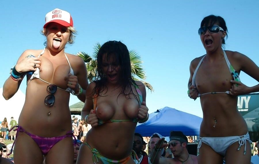 Nude spring break beach-2654
