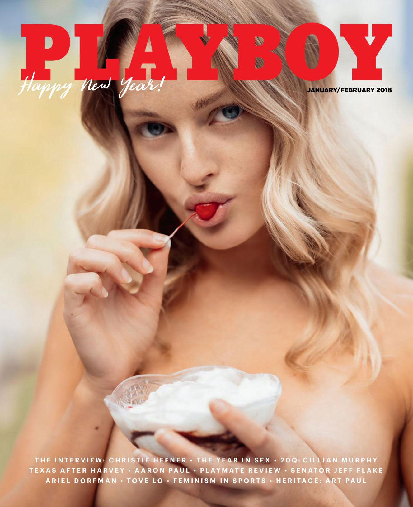 Miss February 2018 / Megan Samperi by Christopher von Steinbach / Playboy USA january-february 2018
