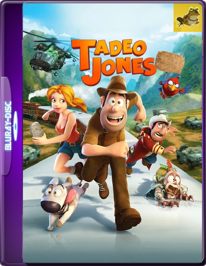Las Aventuras De Tadeo Jones (2012) Brrip 1080p (60 FPS) Latino