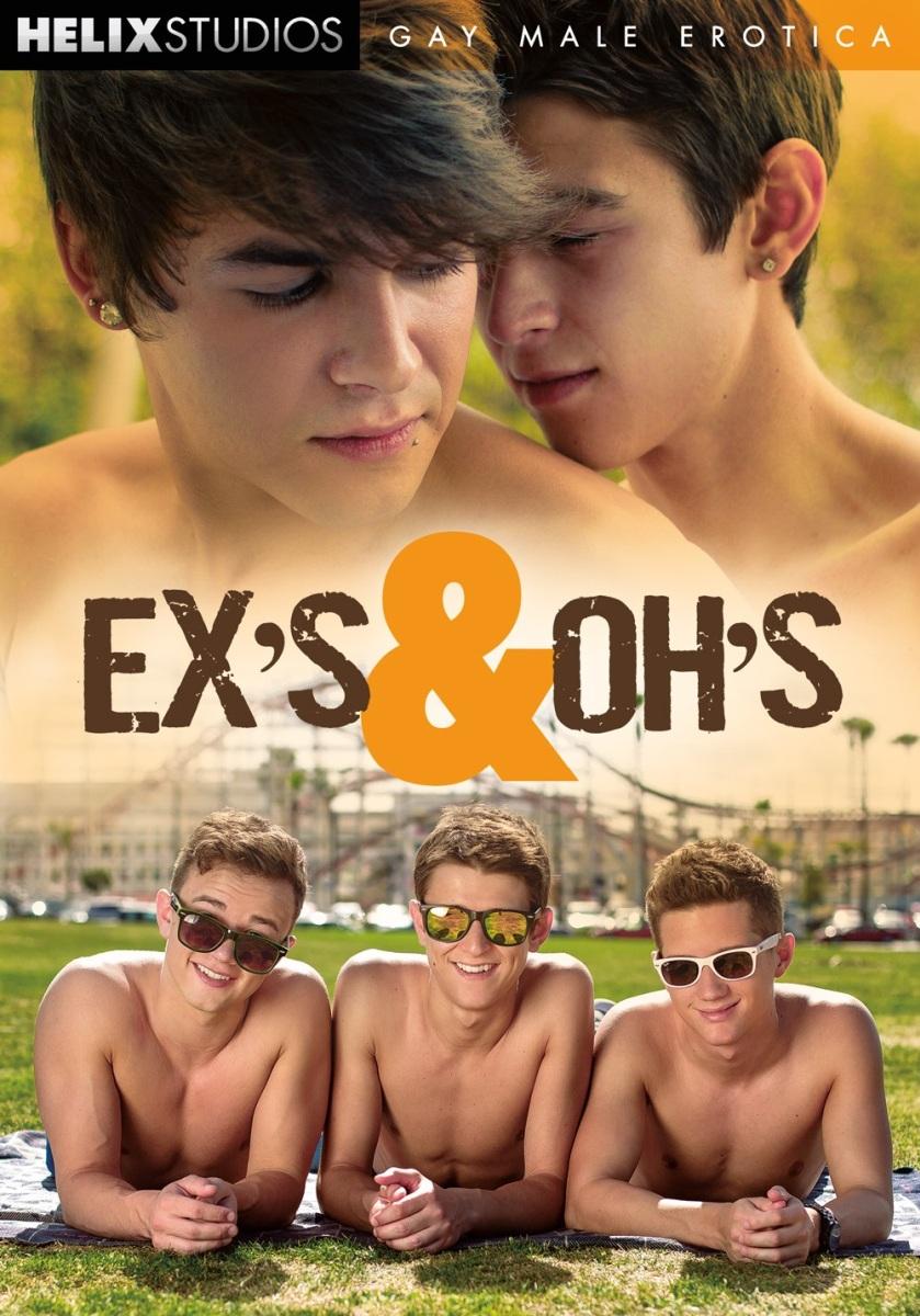 Ex's & Oh's / Экс-х и О-х (Alex Roman, Helix Studios) [2016 г., Twinks, Bareback, Oral, Anal, Big Dick, Rimming, Tattoos, Threesome, Masturbation, Cumshots, DVD9]