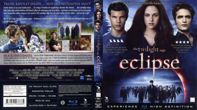 Crepusculo 3 Eclipse (2010) BRRip 720p Audio Trial Latino-Castellano-Ingles
