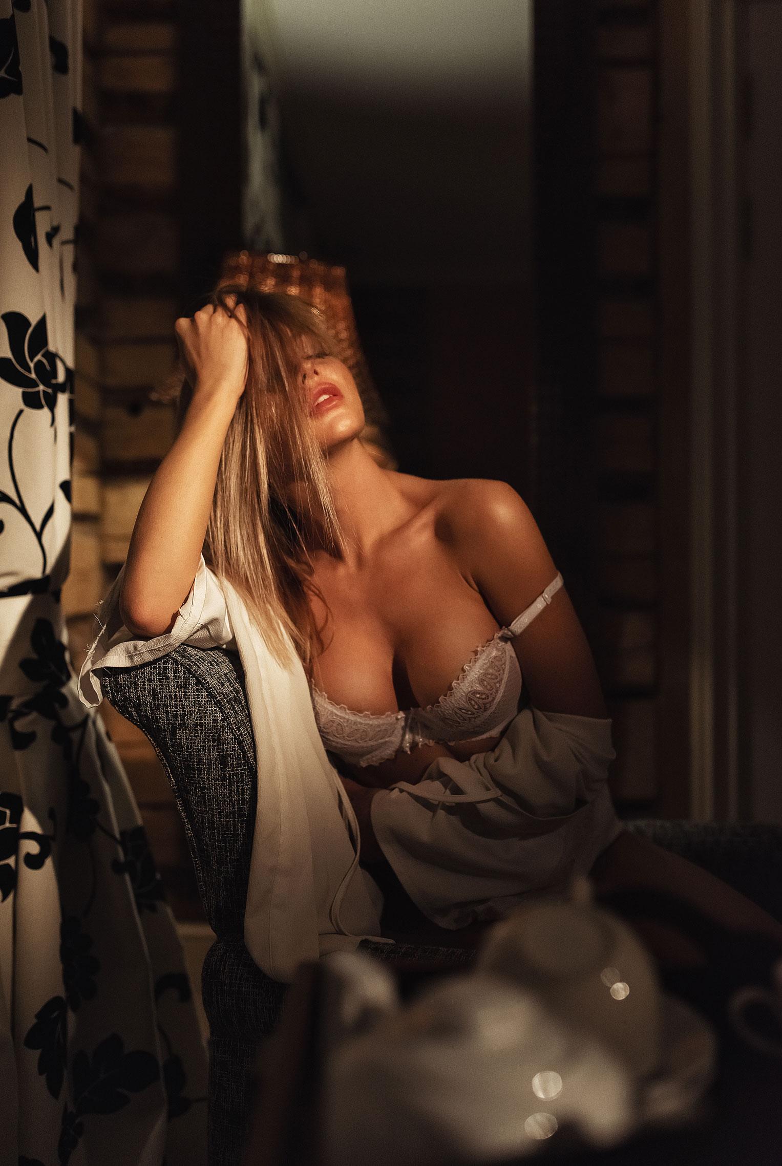 Сексуальная Кира (@angel_milkis) в эротичном нижнем белье / фото 10