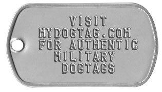 Photos Of Army Earring Dogtags