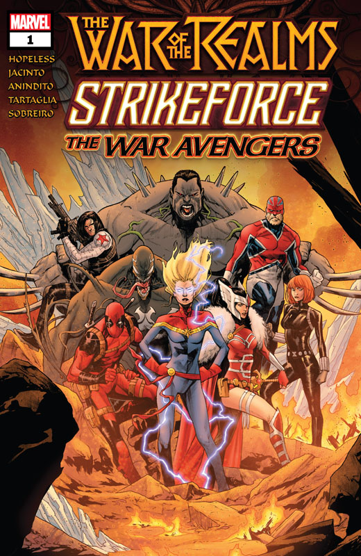 War of the Realms Strikeforce (2019) Complete