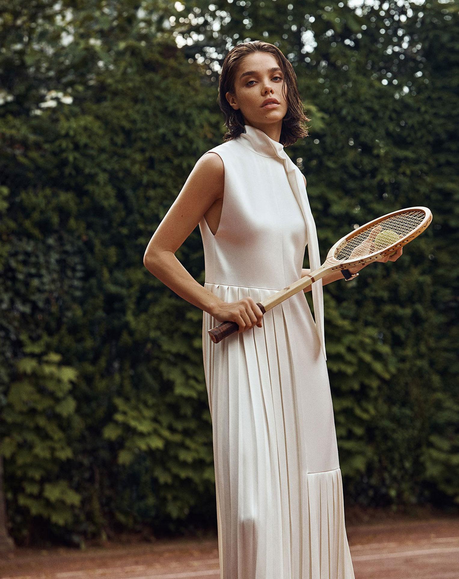 -Королева кортов- Мишель Дантас в модной одежде спортивного стиля / фото 10