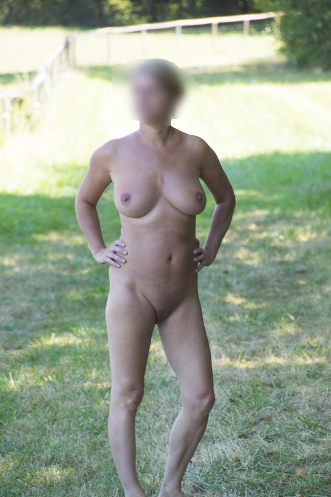 Milf naked in public-3211