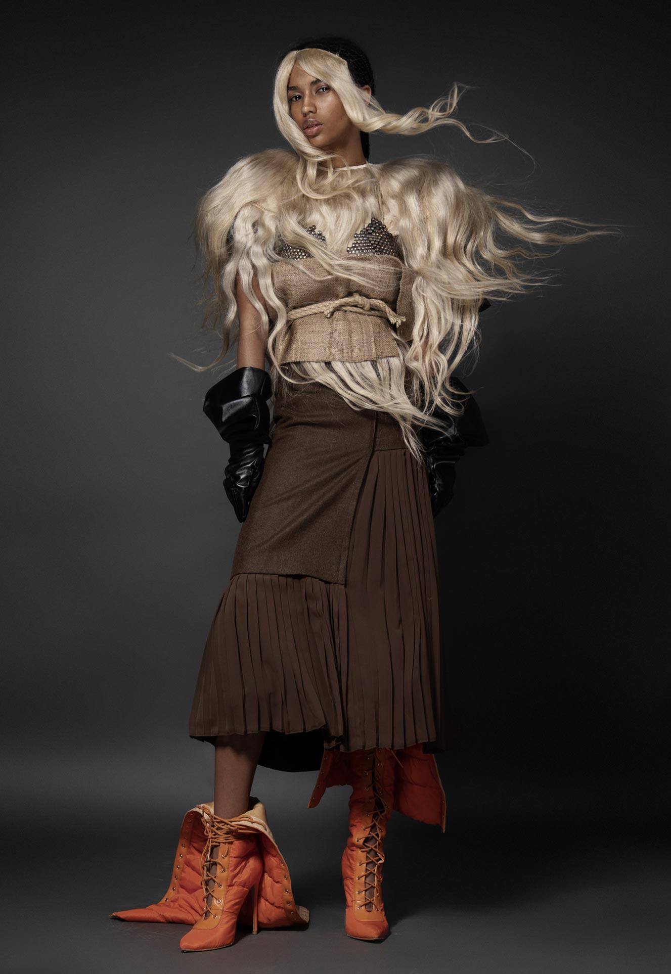 Нетрадиционный взгляд на модную одежду / фото 18