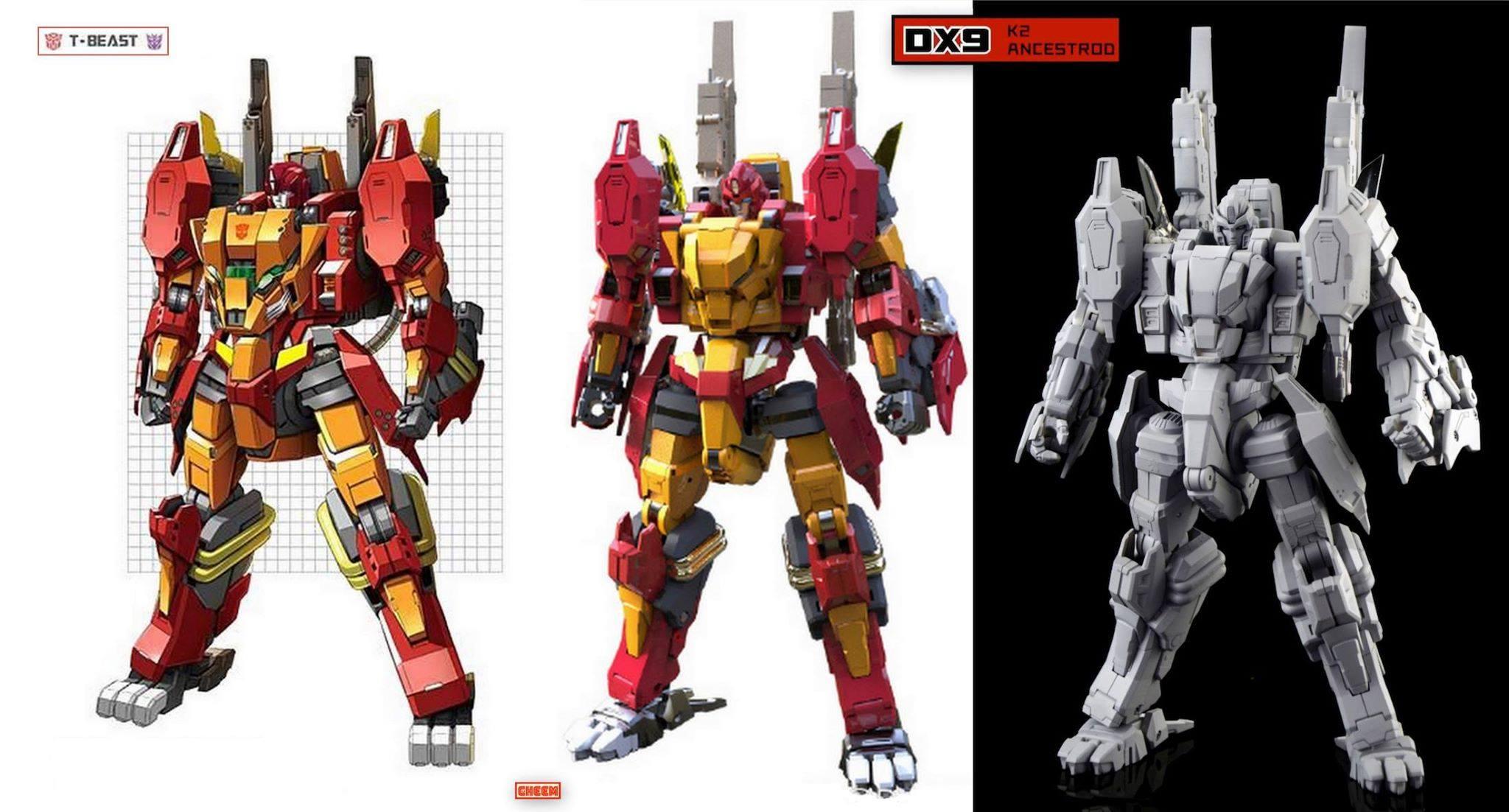 Produit Tiers - Design T-Beast - Basé sur Beast Wars - par Generation Toy, DX9 Toys, TT Hongli, Transform Element, etc 1NYHhisT_o