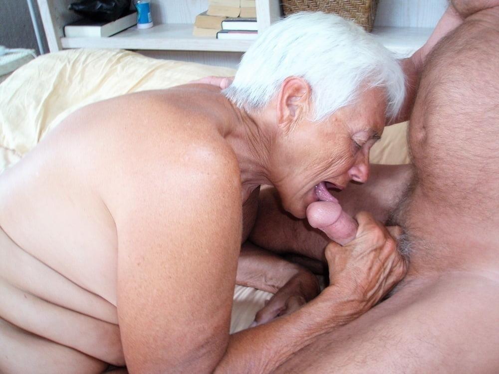 Chubby granny naked-8963