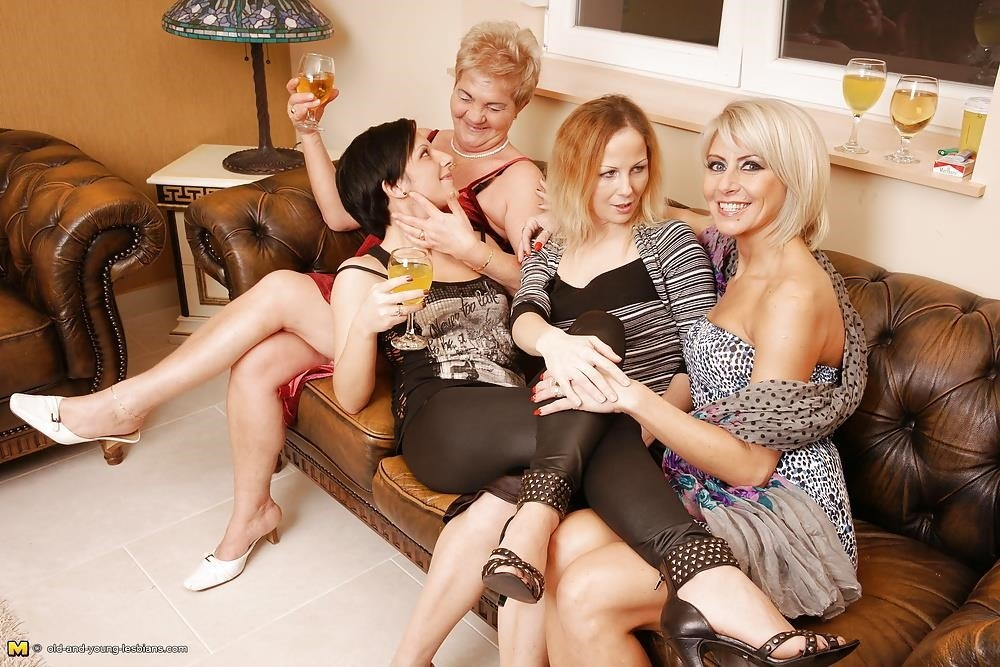 Group sex with grannies-9612