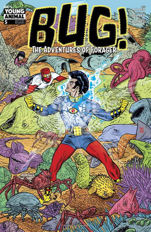 Bug! The Adventures of Forager #1-6 (2017-2018) Complete