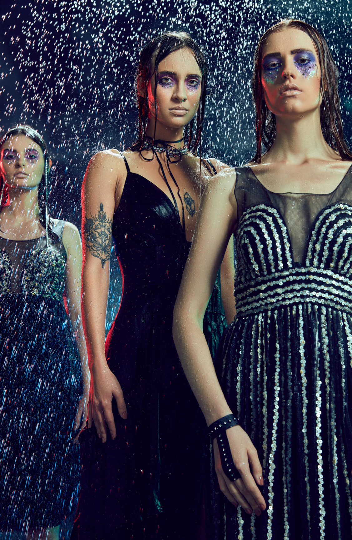 Relentless Rain / Marina Belckina, Marina Kuzinkina, Patrycja Krzywon by Priyankk Nandwana