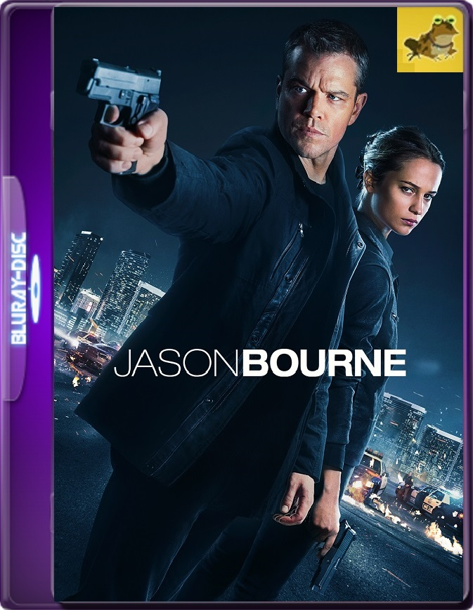 Jason Bourne (2016) Brrip 1080p (60 FPS) Latino / Inglés