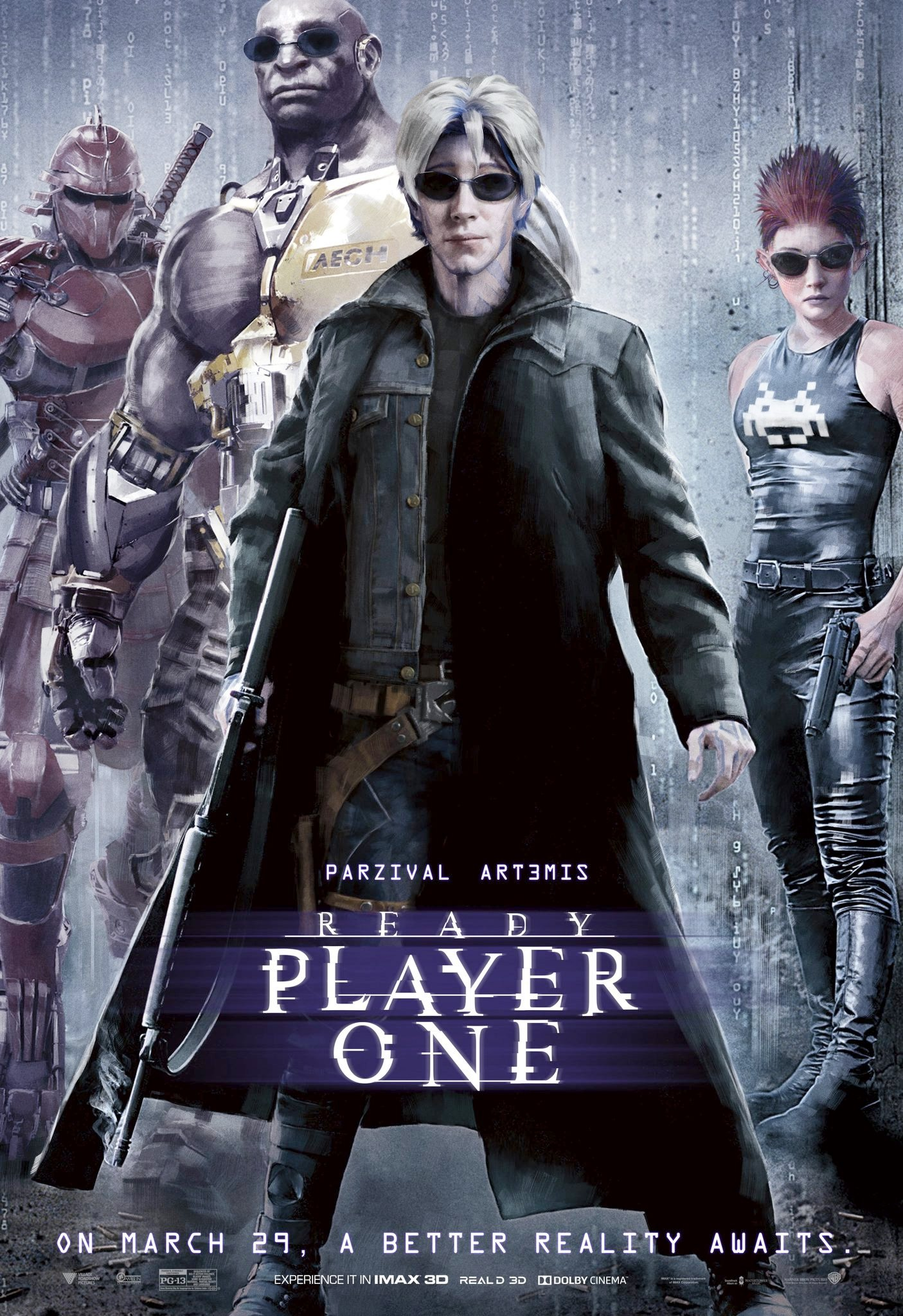 Ready Player One Movie Quotes: READY PLAYER ONE Gets A Series Of Posters That Pay Homage