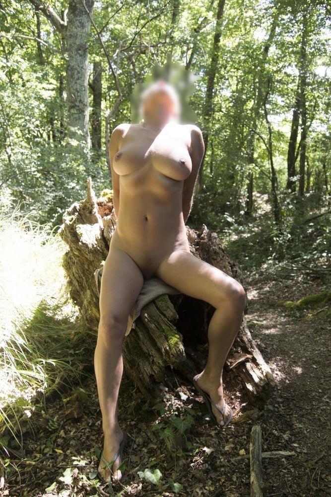 Milf naked in public-9692