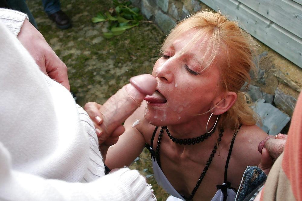 Amateur milf bukkake-6712