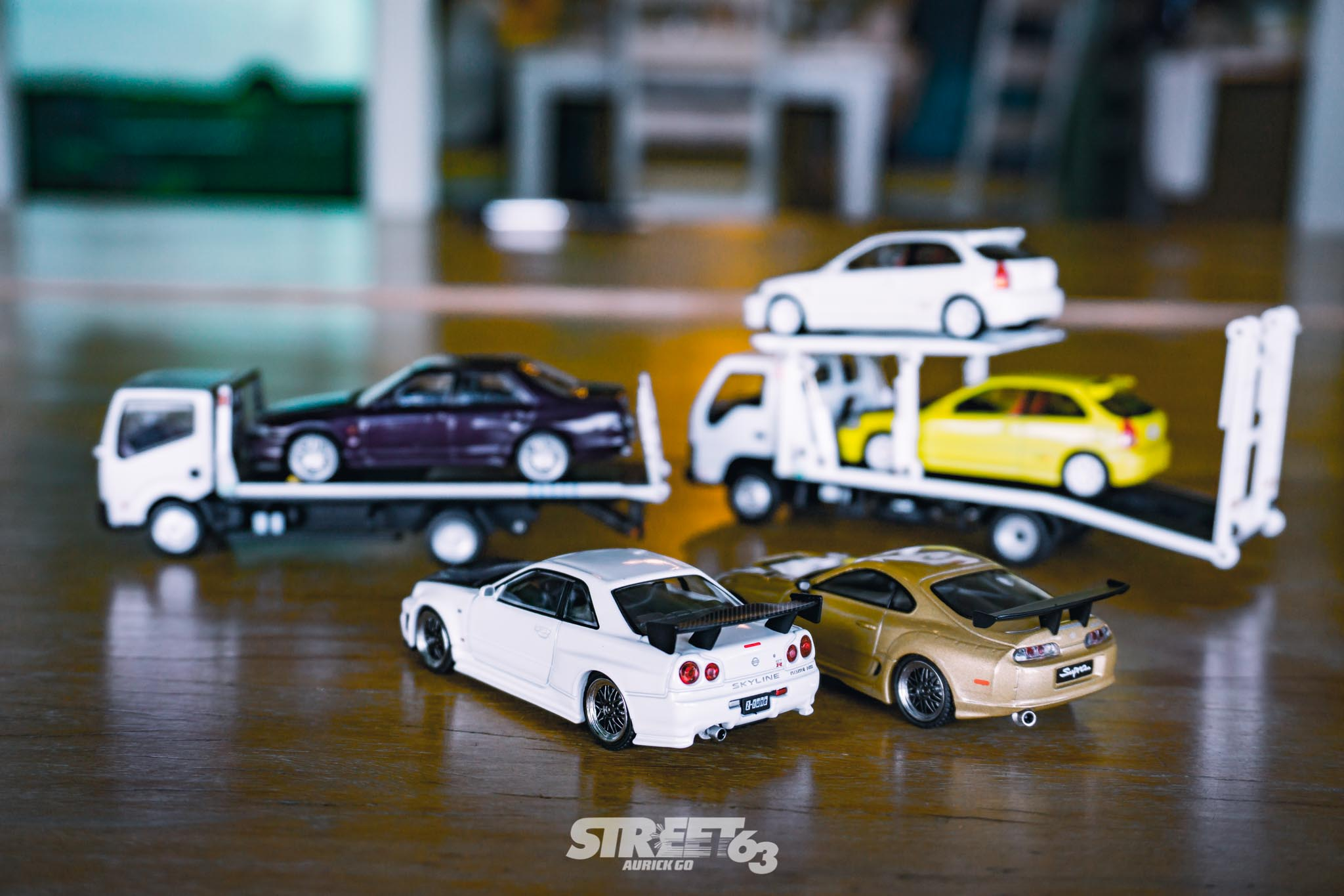 Mini63: The Street63 Diecast Collection 4