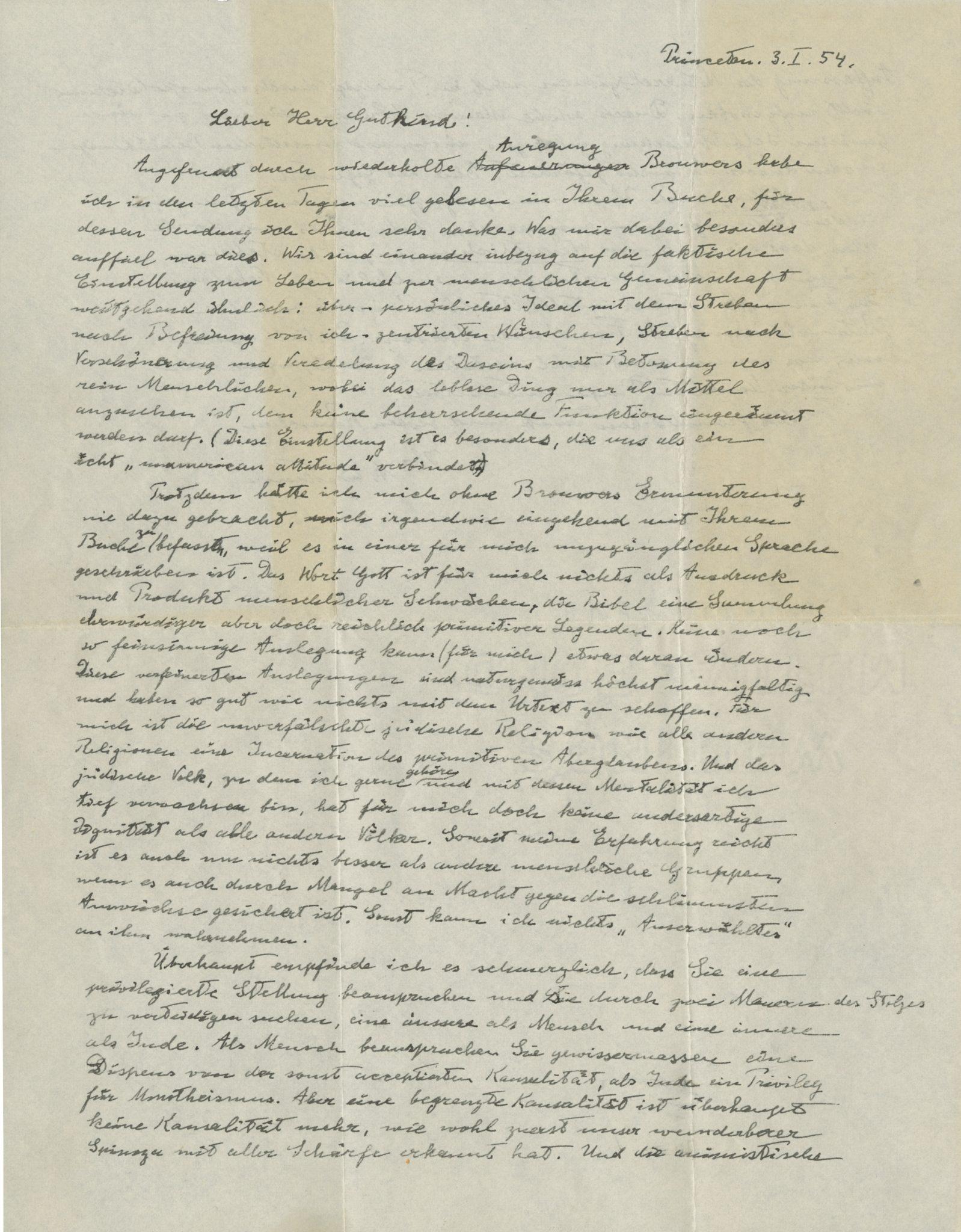 """Albert Einstein, finisce su eBay la """"Lettera su Dio"""" del fisico 7upNt0Kn_o"""