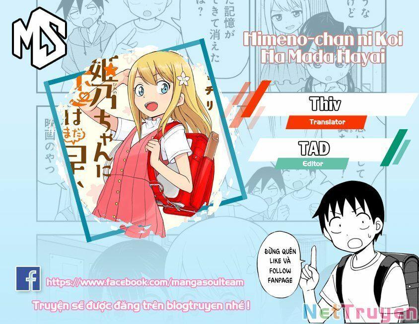 Với Himeno-chan Thì Yêu Vẫn Còn Quá Sớm Đó! Chap 27 . Next Chap 28